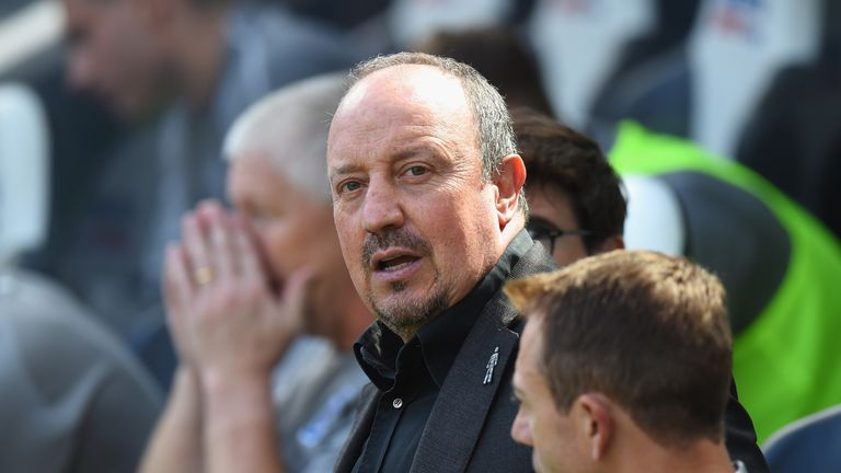Rafa Benitez says he is ready to make the most of his current Newcastle squad