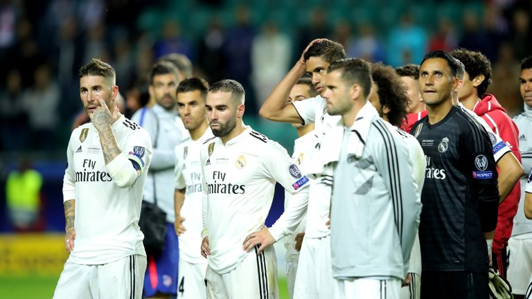 Real madrid must improve in all facets after super cup loss says real madrid conceded four as they lost to rivals atletico in tallinn stopboris Images