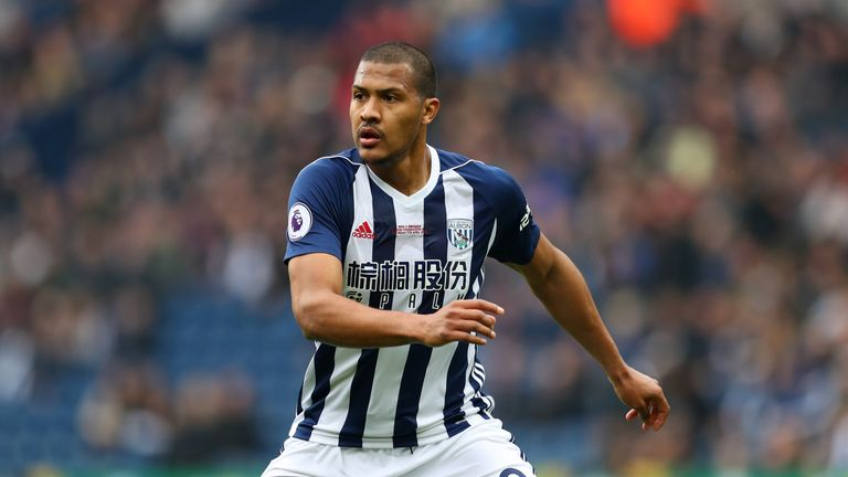Salomon Rondon is nearing a loan move to Newcastle from West Brom