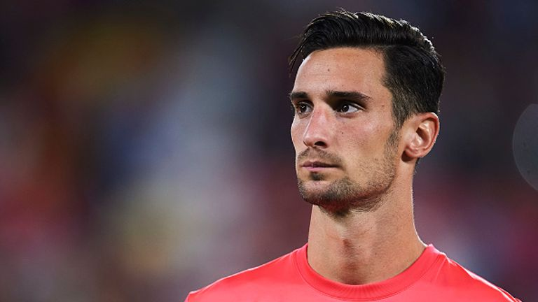 Sergio Rico featured against Liverpool and Man Utd in the Champions League last season before losing his first-team spot