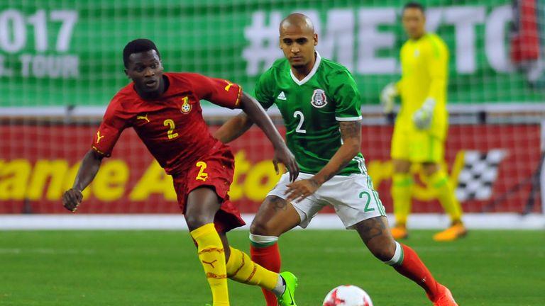 Thomas Agyepong has joined Hibernian on loan