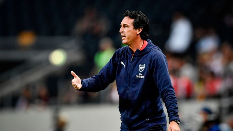 Unai Emery saw his first pre-season as Arsenal boss end with a win