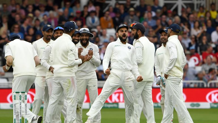 England facing defeat in third India Test after shocking collapse