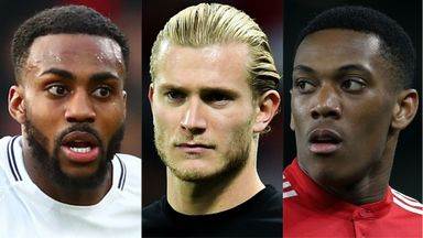 Danny Rose, Loris Karius and Anthony Martial could be on the move