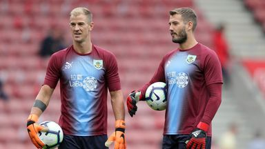 fifa live scores -                               Dyche expects goalkeeper unrest