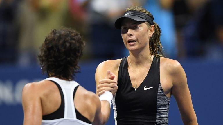 Sharapova Knocked Out of US Open by Navarro