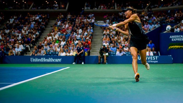 Maria Sharapova's US Open ends at hands of Carla Suárez Navarro