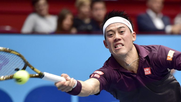 Kei Nishikori has lost eight finals in a row