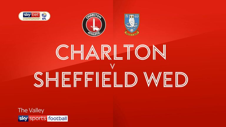 Charlton v Sheffield Wednesday