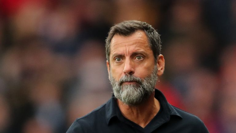 Quique Sanchez Flores was re-appointed as Watford head coach in September