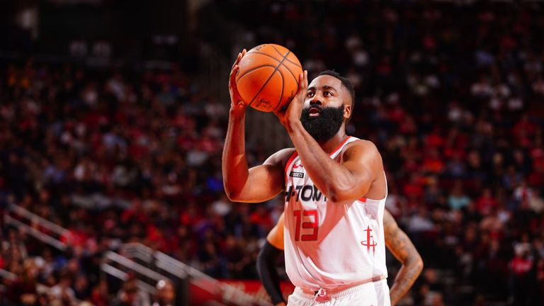 James Harden scores 60 points in Houston Rockets win
