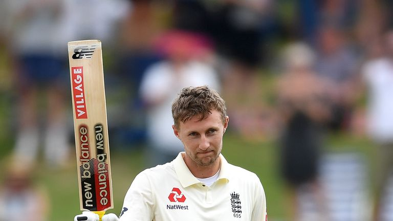 Joe Root, England captain, Test century vs New Zealand in Hamilton