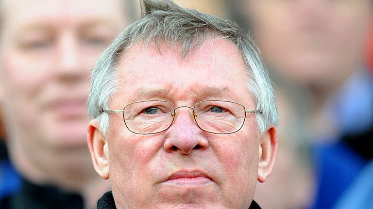 Ferguson looks determined for United to get a result against the title challengers.