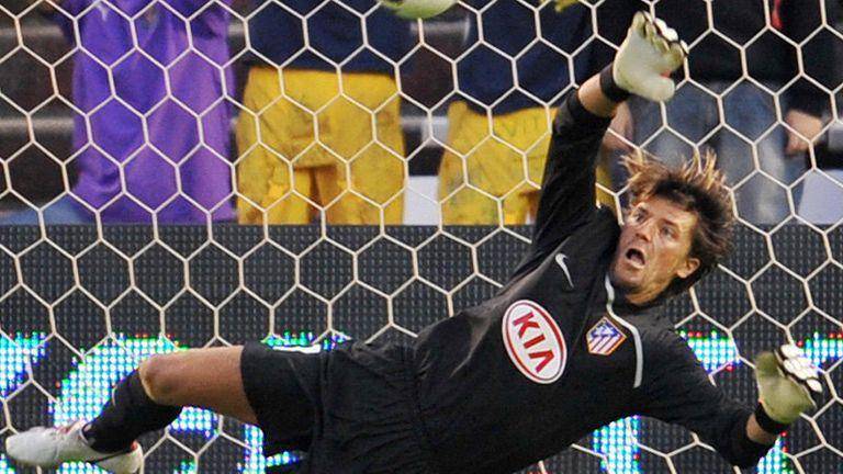 Atletico Madrid goalkeeper