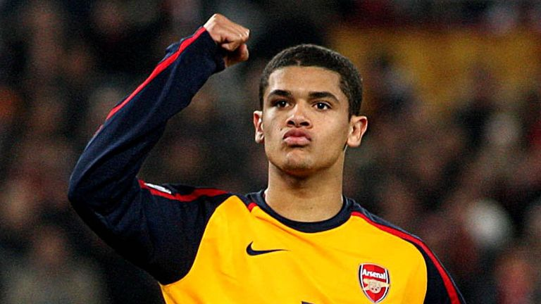 Penalties: Denilson holds his nerve to slot home for the Gunners.