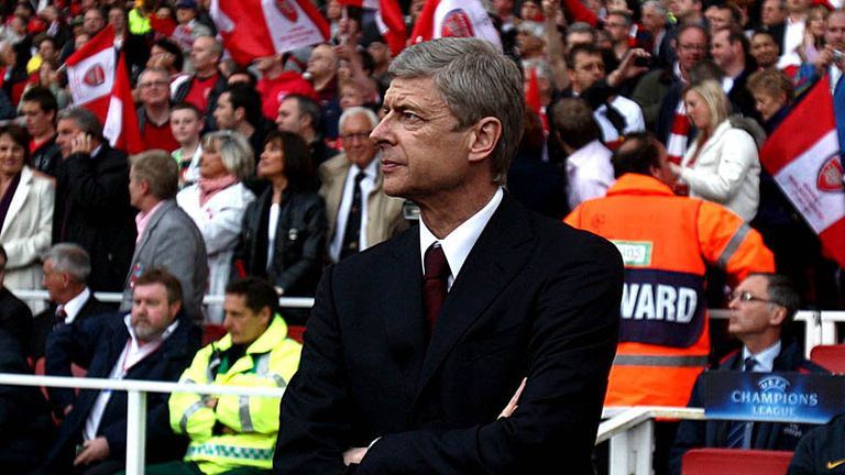 Wenger suffers his first home defeat in Europe at the Emirates.