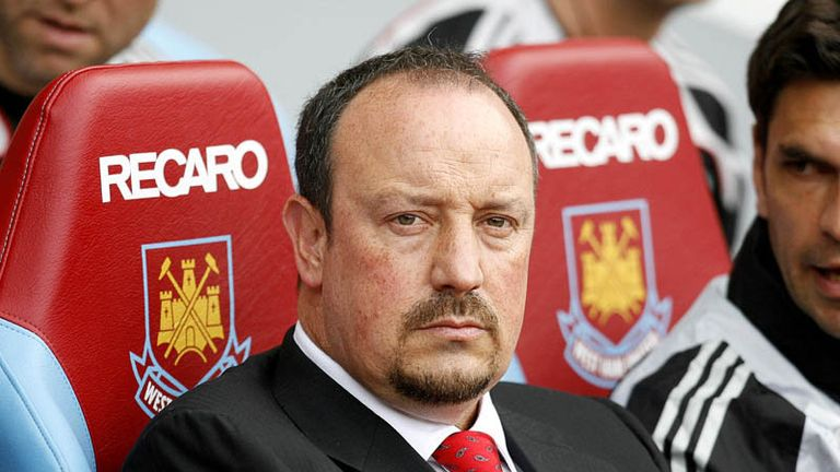 Rafael Benitez sees his side take the top spot in the Premier League after the win at West Ham.