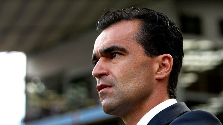 Roberto Martinez begins his first Premier League game in charge of Wigan at Villa Park.