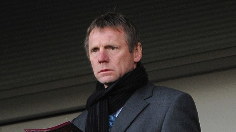 England under-21 coach Stuart Pearce watches the action at the KC Stadium
