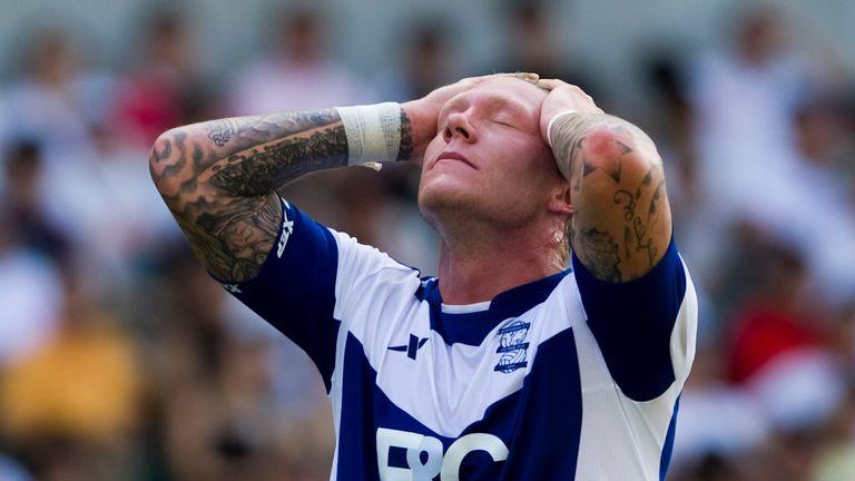 Birmingham City striker Garry OConnor