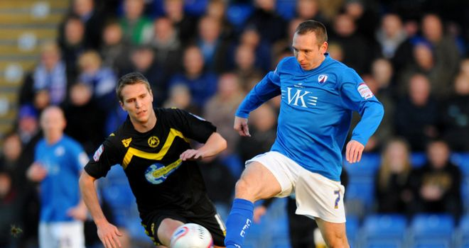 Mark Allott: Chesterfield midfielder intends to carry on playing next season