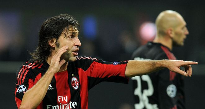 Pirlo: Leaving Milan after ten years at the club