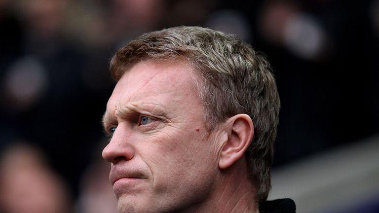 looking grim during Bolton v Everton