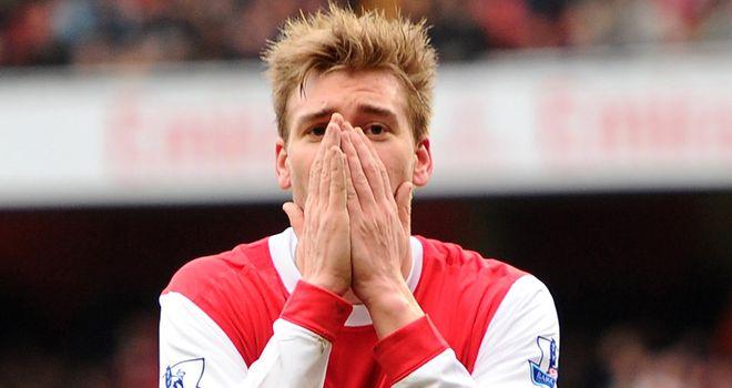 Bendtner: Determined to leave Arsenal for good after securing loan move