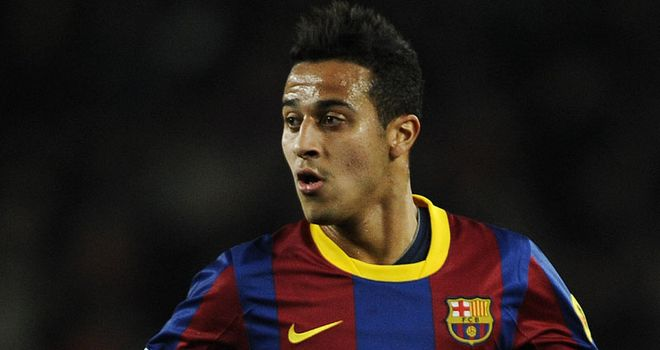 Thiago: Young midfielder has signed extension to his Barcelona contract