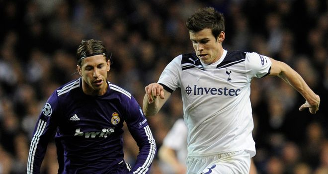 Gareth Bale shot to fame during Spurs Champions League run in the 2010-11 season