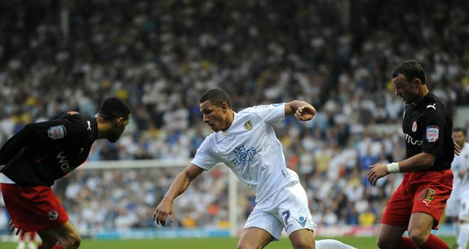Livermore: Seeks way through for Leeds