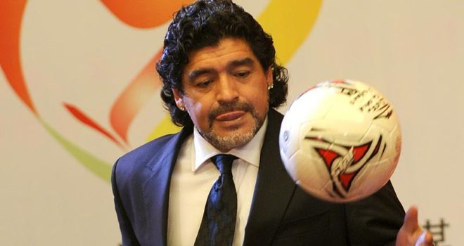 Diego Maradona: Argentina legend has described Luis Suarez's ban as 'the act of an incredible mafia'