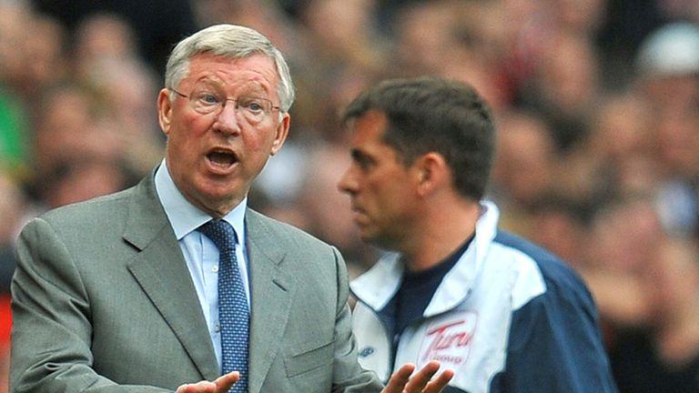 Sir Alex Ferguson calls for calm