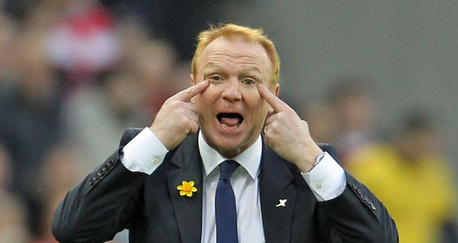 McLeish: Eyeing Villa helm now compensation has been agreed