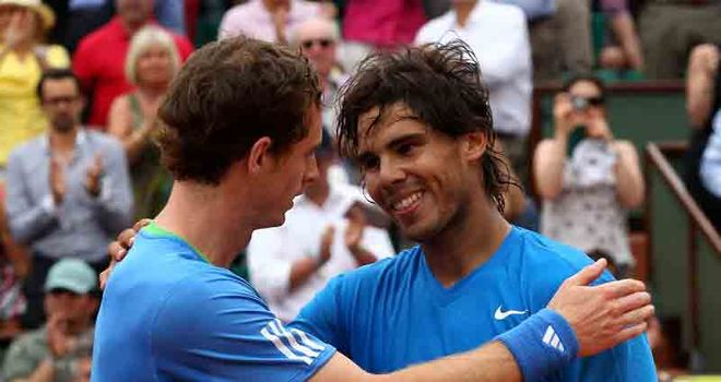 Nadal: Broken three times but won in straight sets