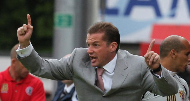 Graham Westley: Wanted to fill vacant managerial post at Preston