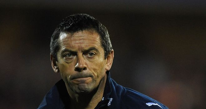 Phil Brown: Sacked by Preston after less than a year in the job at Deepdale