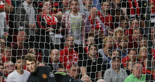 David De Gea: Hoping to play an integral role in Manchester United's future