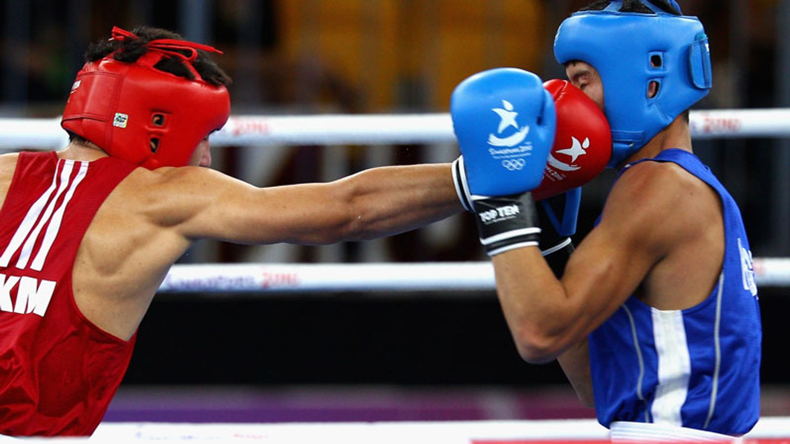 Two russian boxers competed while serving bans for doping