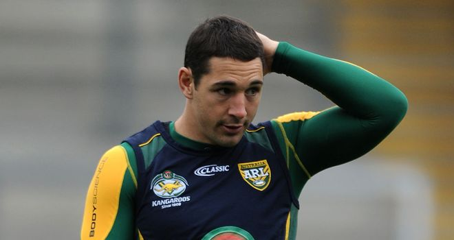 Billy Slater: Won RLIF player of the year award for the second time.