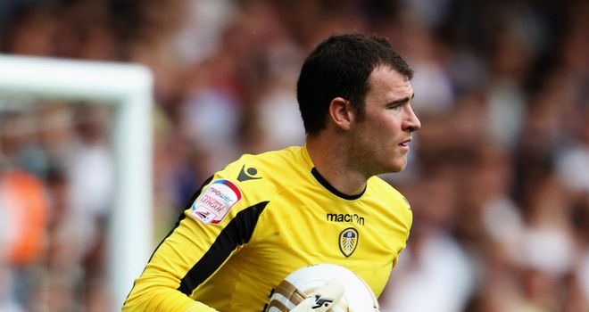 Andy Lonergan: Leeds United goalkeeper is an option for Bolton Wanderers manager Owen Coyle
