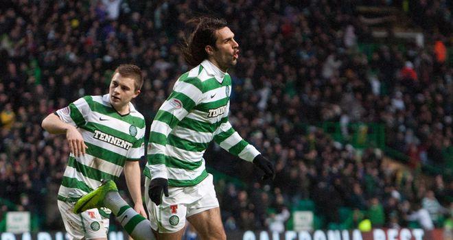 Samaras: Opened the scoring for Celtic