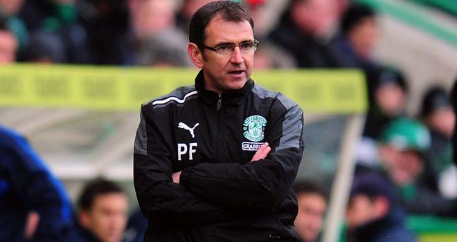 Pat Fenlon: Working hard to bring fresh faces into Easter Road