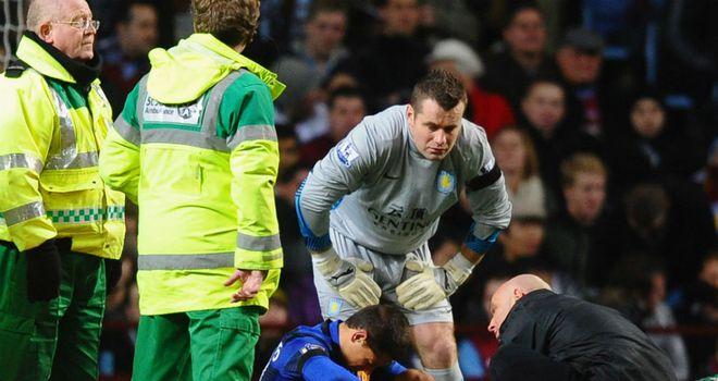 Javier Hernandez: Is set to miss between three and five weeks with an ankle injury