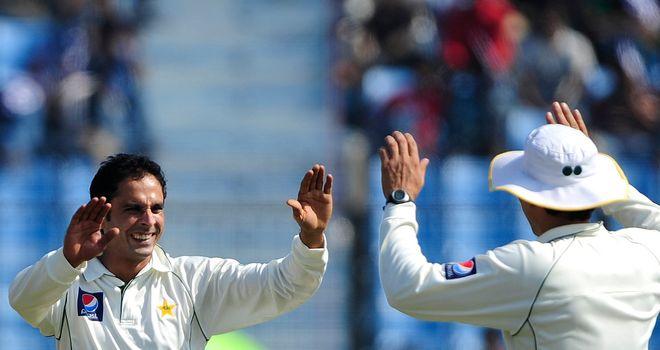 Abdur Rehman: helped Pakistan bowl out Bangladesh for 135