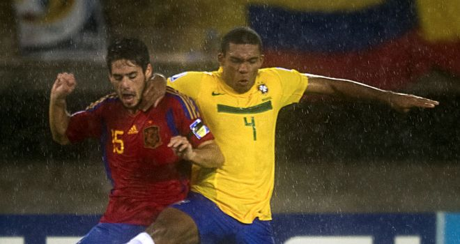 Juan Jesus: Considered to be one of Brazil's brightest prospects
