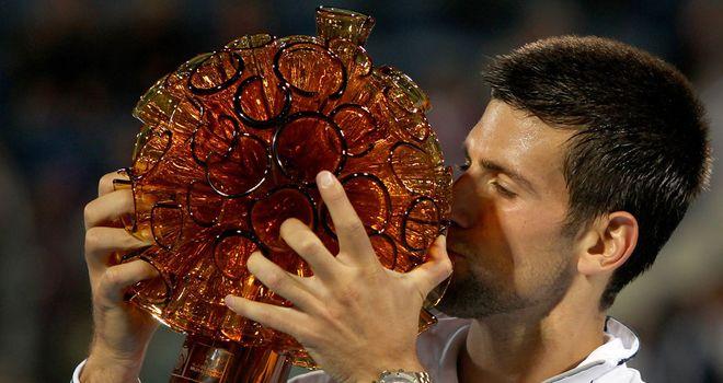 Novak Djokovic: Winner of the Abu Dhabi exhibition tournament