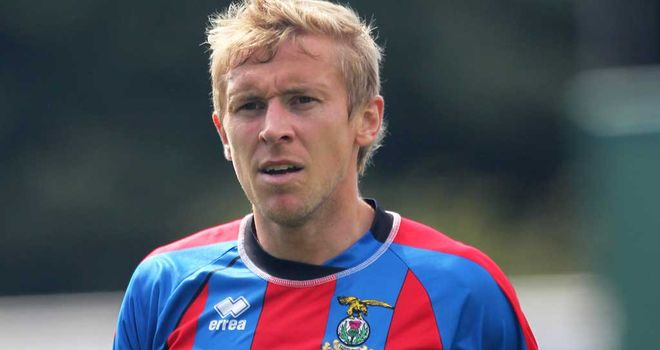 Richie Foran: Signed a new two-year deal at Inverness Caledonian Thistle