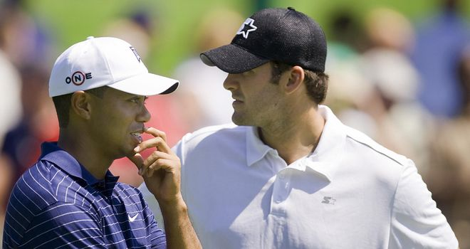 Tiger Woods and Tony Romo: Pairing up for the second time