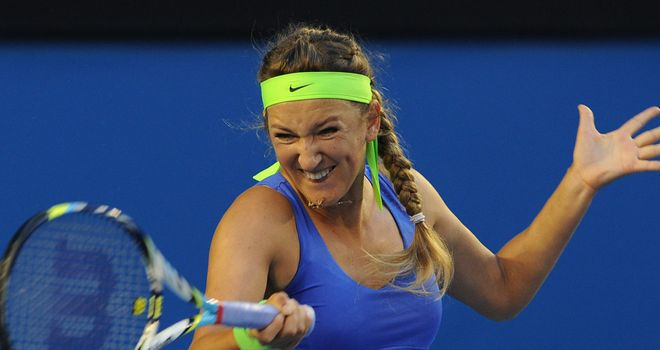 Victoria Azarenka: Sidelined by ankle injury